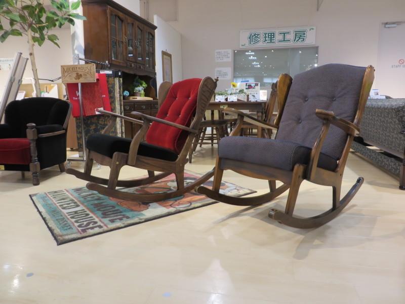 家具再生実例 カリモクコロニアル ロッキングチェア 富山県射水市S様_d0224984_12382154.jpeg