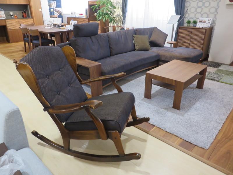 家具再生実例 カリモクコロニアル ロッキングチェア 富山県射水市S様_d0224984_13531263.jpeg
