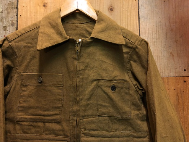 1月15日(水)マグネッツ大阪店ヴィンテージ入荷!!#3 OutdoorHunting編! NOS RED WING & HomeMadeFishingJKT、BAUER DOWN!!_c0078587_22141935.jpg