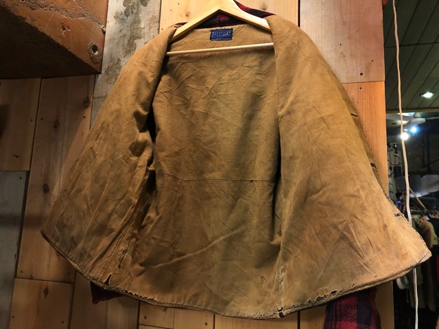 1月15日(水)マグネッツ大阪店ヴィンテージ入荷!!#3 OutdoorHunting編! NOS RED WING & HomeMadeFishingJKT、BAUER DOWN!!_c0078587_22211172.jpg