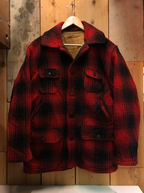 1月15日(水)マグネッツ大阪店ヴィンテージ入荷!!#3 OutdoorHunting編! NOS RED WING & HomeMadeFishingJKT、BAUER DOWN!!_c0078587_22214963.jpg