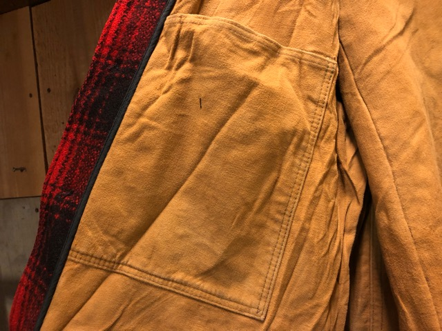 1月15日(水)マグネッツ大阪店ヴィンテージ入荷!!#3 OutdoorHunting編! NOS RED WING & HomeMadeFishingJKT、BAUER DOWN!!_c0078587_22225937.jpg