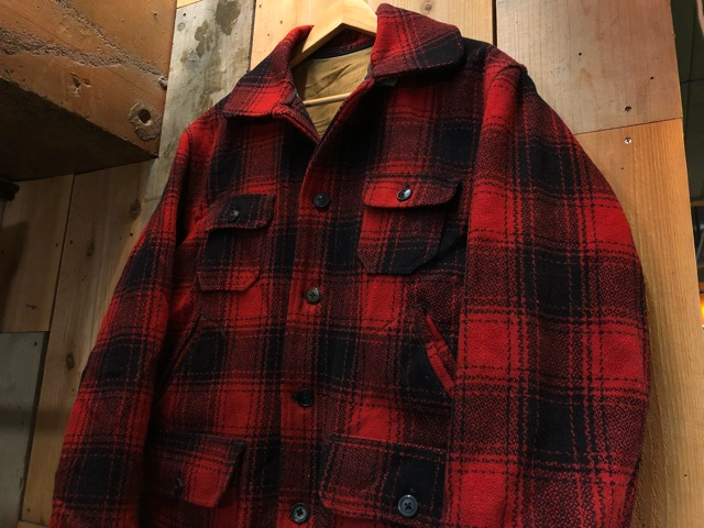 1月15日(水)マグネッツ大阪店ヴィンテージ入荷!!#3 OutdoorHunting編! NOS RED WING & HomeMadeFishingJKT、BAUER DOWN!!_c0078587_22233065.jpg
