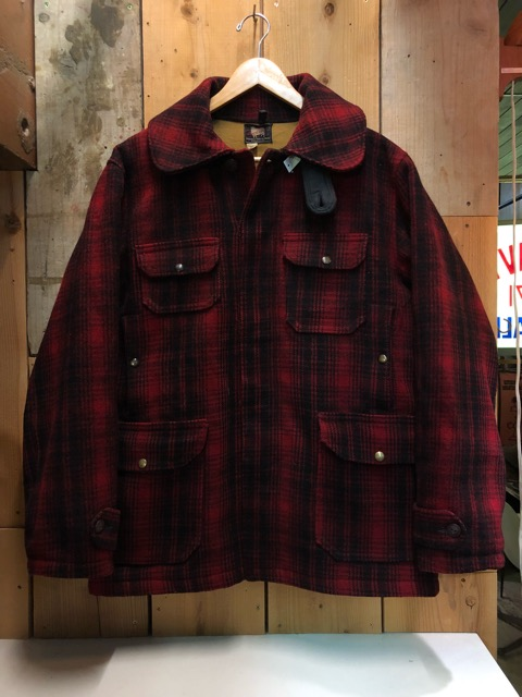 1月15日(水)マグネッツ大阪店ヴィンテージ入荷!!#3 OutdoorHunting編! NOS RED WING & HomeMadeFishingJKT、BAUER DOWN!!_c0078587_22235387.jpg