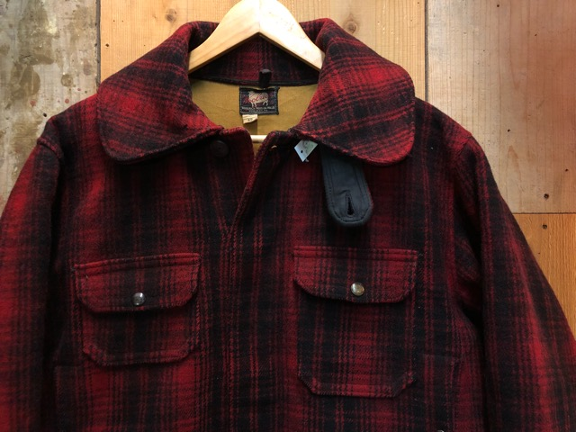 1月15日(水)マグネッツ大阪店ヴィンテージ入荷!!#3 OutdoorHunting編! NOS RED WING & HomeMadeFishingJKT、BAUER DOWN!!_c0078587_22242116.jpg