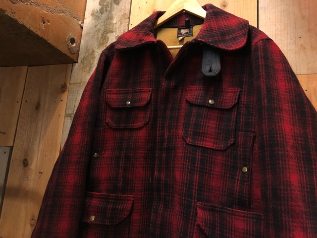 1月15日(水)マグネッツ大阪店ヴィンテージ入荷!!#3 OutdoorHunting編! NOS RED WING & HomeMadeFishingJKT、BAUER DOWN!!_c0078587_22264066.jpg