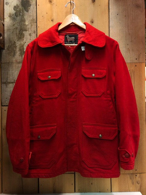 1月15日(水)マグネッツ大阪店ヴィンテージ入荷!!#3 OutdoorHunting編! NOS RED WING & HomeMadeFishingJKT、BAUER DOWN!!_c0078587_22265298.jpg