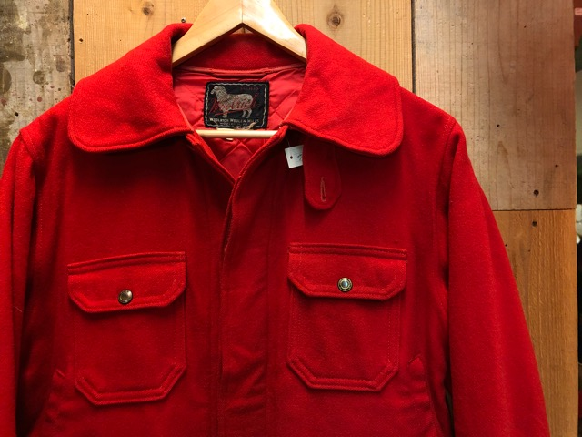 1月15日(水)マグネッツ大阪店ヴィンテージ入荷!!#3 OutdoorHunting編! NOS RED WING & HomeMadeFishingJKT、BAUER DOWN!!_c0078587_2227184.jpg