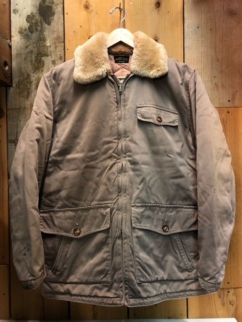 1月15日(水)マグネッツ大阪店ヴィンテージ入荷!!#3 OutdoorHunting編! NOS RED WING & HomeMadeFishingJKT、BAUER DOWN!!_c0078587_22294595.jpg