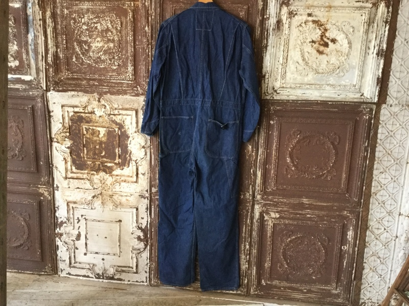 1940s Denim All In One CoverAll_c0226387_12385969.jpeg