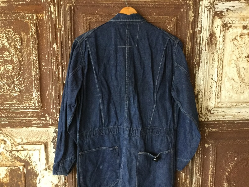 1940s Denim All In One CoverAll_c0226387_12391385.jpeg