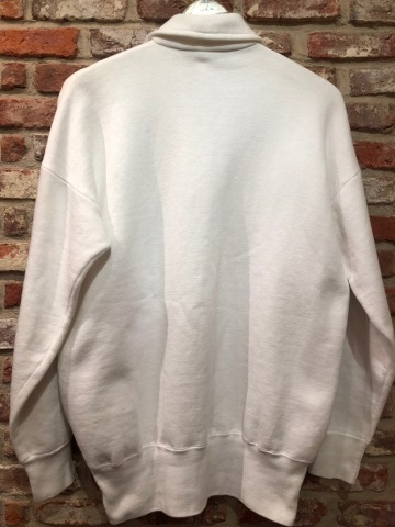 "1950s "" PENNEY\'S \"" ALL cotton VINTAGE - ZIG ZAG MAN - HALF/ZIP SWEAT SHIRTS ._d0172088_16202130.jpg"