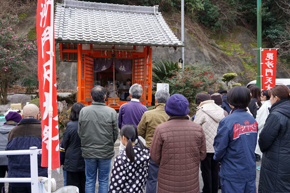 毘沙門さんの新春大祭_b0145296_10475584.jpg