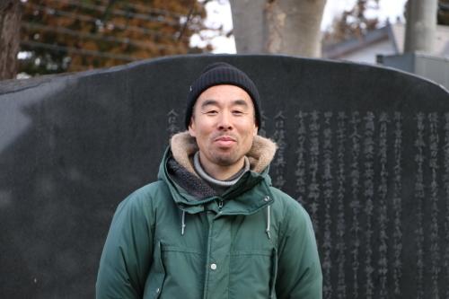 鎌倉市長谷のCafe雨ニモマケズのオーナー米沢出身の横山享氏が再来館_c0075701_13043399.jpg
