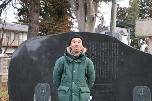 鎌倉市長谷のCafe雨ニモマケズのオーナー米沢出身の横山享氏が再来館_c0075701_13044264.jpg