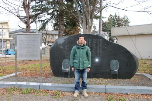 鎌倉市長谷のCafe雨ニモマケズのオーナー米沢出身の横山享氏が再来館_c0075701_13044651.jpg