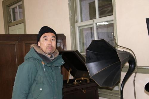 鎌倉市長谷のCafe雨ニモマケズのオーナー米沢出身の横山享氏が再来館_c0075701_13050867.jpg