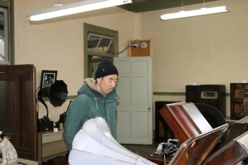 鎌倉市長谷のCafe雨ニモマケズのオーナー米沢出身の横山享氏が再来館_c0075701_13051760.jpg