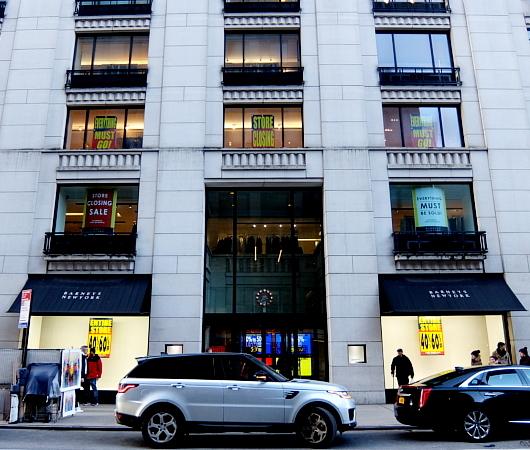 バーニーズ・ニューヨーク本店、閉店直前のホリデー・ウィンドウ_b0007805_11083074.jpg