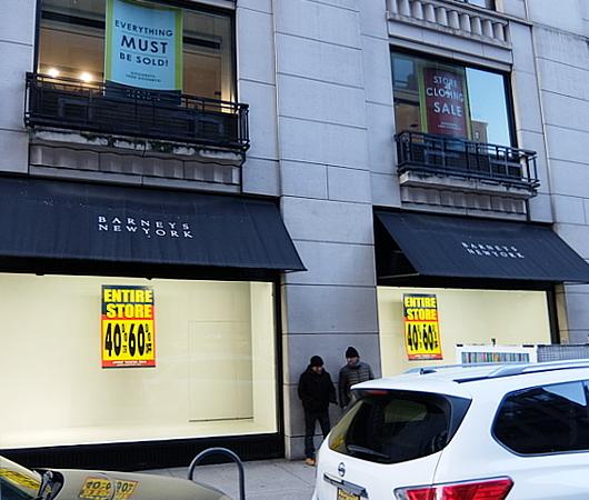 バーニーズ・ニューヨーク本店、閉店直前のホリデー・ウィンドウ_b0007805_11085582.jpg