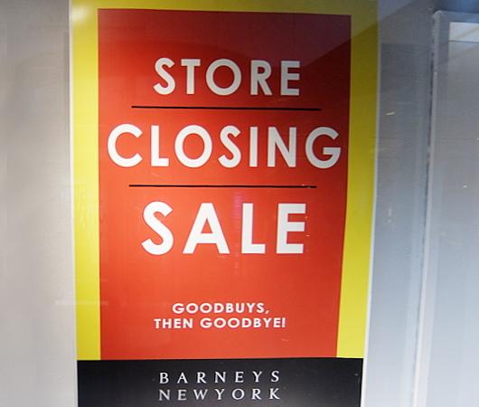 バーニーズ・ニューヨーク本店、閉店直前のホリデー・ウィンドウ_b0007805_11100611.jpg