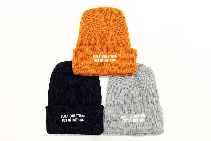 "NOTHIN\'SPECIAL (ナッシンスペシャル) "" OUT OF NOTHING BEANIE \""_b0122806_13390439.jpg"