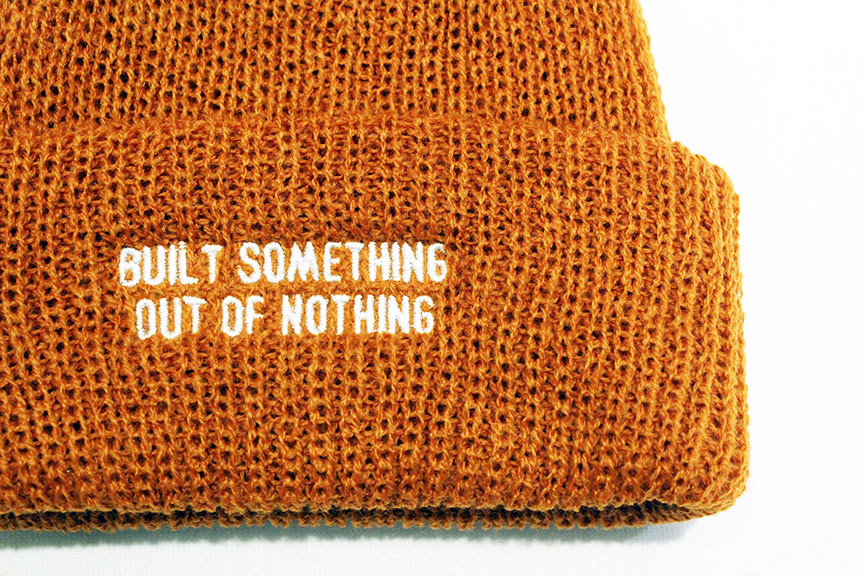 "NOTHIN\'SPECIAL (ナッシンスペシャル) "" OUT OF NOTHING BEANIE \""_b0122806_13390973.jpg"