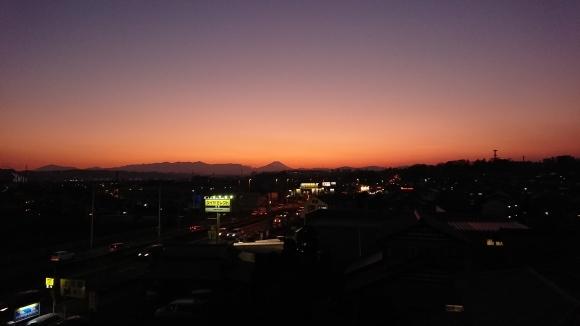 1/13 今日の富士山_b0042308_17370918.jpg