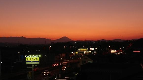 1/13 今日の富士山_b0042308_17373370.jpg