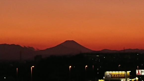 1/13 今日の富士山_b0042308_17375846.jpg