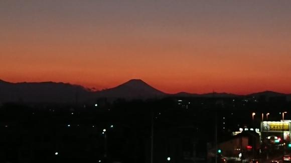 1/13 今日の富士山_b0042308_18221356.jpg