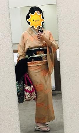女子会ランチの着物_b0114515_21240793.jpg