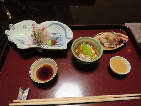 夕食その一。暁翠庵。俵屋旅館にお邪魔。_d0019916_14003470.jpg
