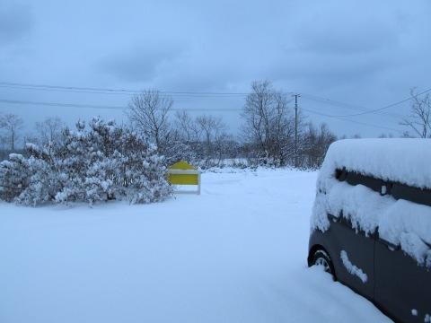 今季初除雪しました!_d0072917_19193184.jpg