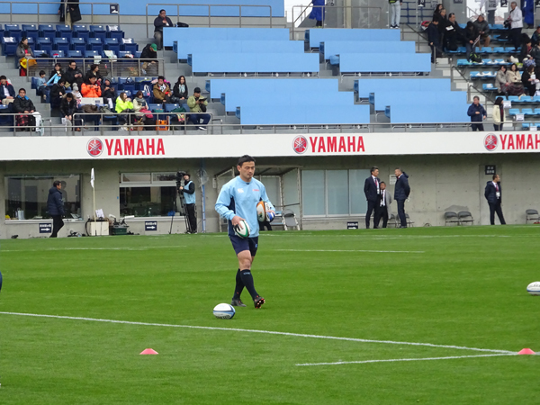 トップリーグ初日、ヤマハvsトヨタを観戦_f0097523_17322625.jpg