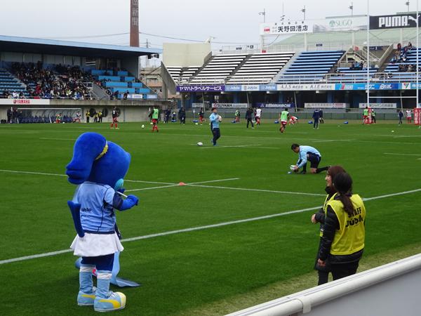 トップリーグ初日、ヤマハvsトヨタを観戦_f0097523_17324256.jpg