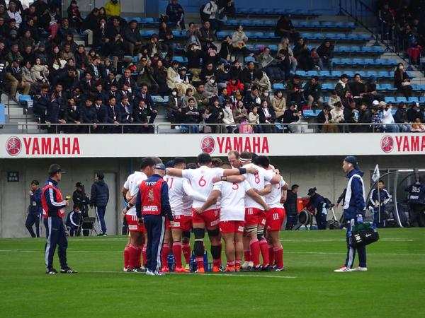 トップリーグ初日、ヤマハvsトヨタを観戦_f0097523_17325283.jpg