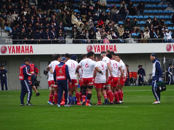 トップリーグ初日、ヤマハvsトヨタを観戦_f0097523_17325531.jpg