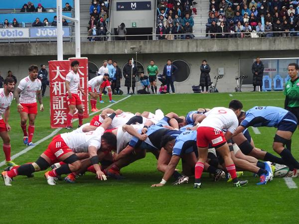 トップリーグ初日、ヤマハvsトヨタを観戦_f0097523_17340700.jpg