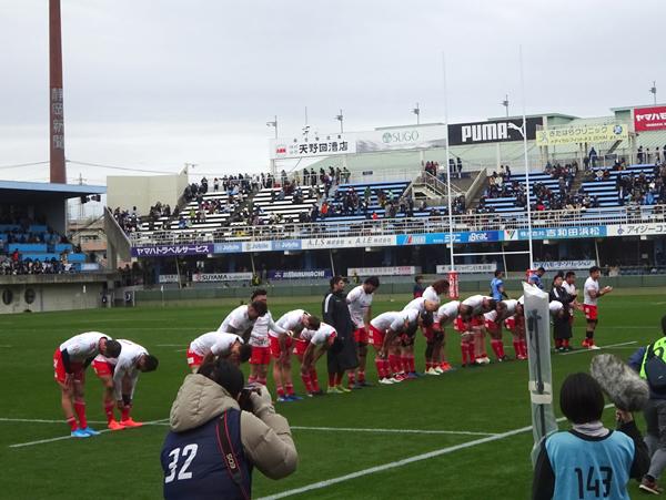 トップリーグ初日、ヤマハvsトヨタを観戦_f0097523_17344550.jpg