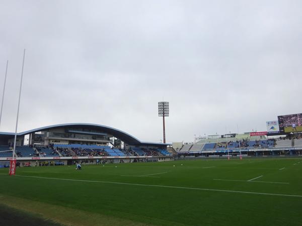 トップリーグ初日、ヤマハvsトヨタを観戦_f0097523_17490753.jpg