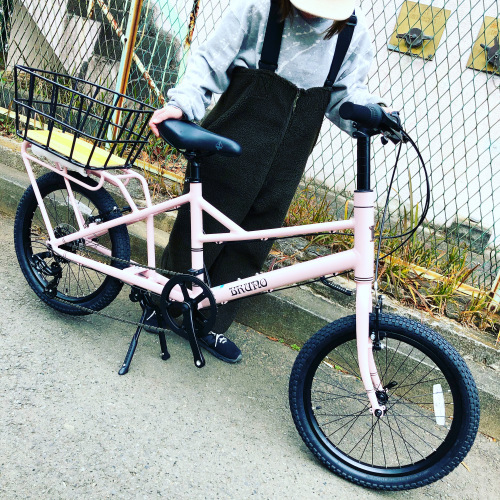 BRUNO 2020モデル 『 MINIVELO TOOL 』ブルーノ ミニベロ ミキスト ミニベロツール おしゃれ自転車 自転車女子 自転車ガール 子乗せ自転車 Yepp 20インチ_b0212032_18224911.jpeg