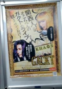 GACKT大阪2日目!から帰宅!_c0036138_00355872.jpg