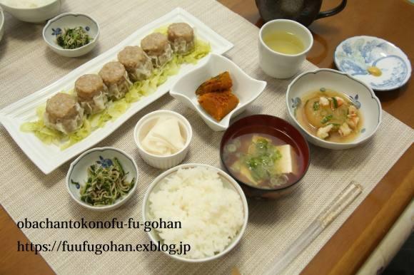 焼売並べて和のお膳&美味しいパスタは、また食べたくなるの~(^_^)v_c0326245_11080980.jpg