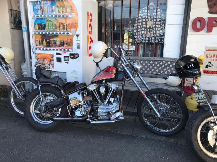 本日のバイク!_f0194657_15161707.jpg