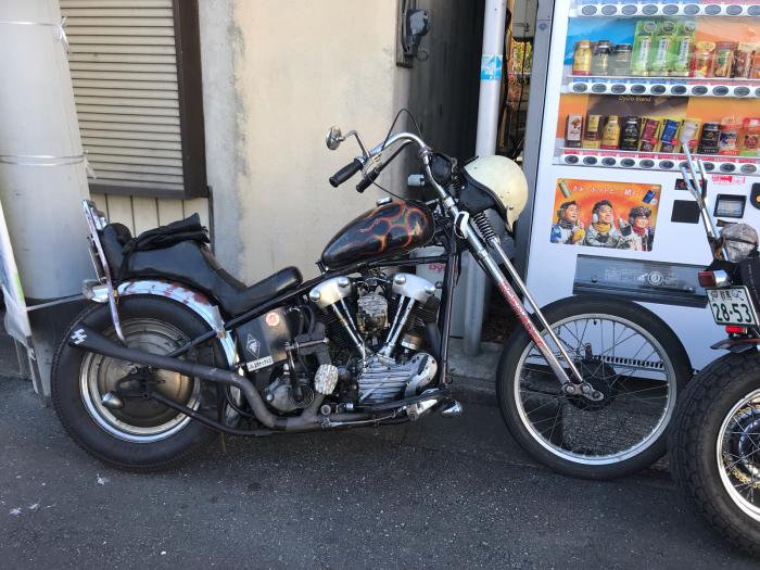 本日のバイク!_f0194657_15161899.jpg