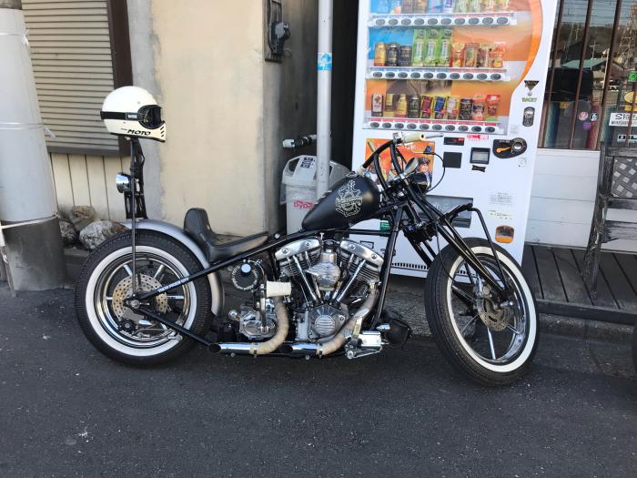 本日のバイク!_f0194657_19524537.jpg