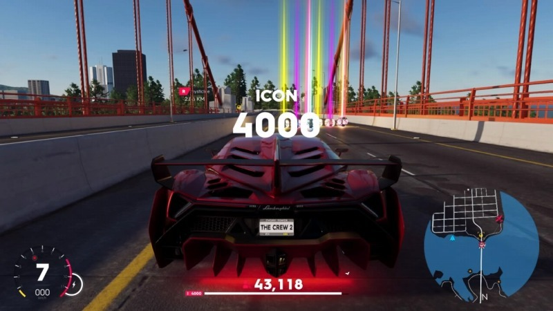 ゲーム「THE CREW2 ICONレベル4000になりました」_b0362459_21205028.jpg