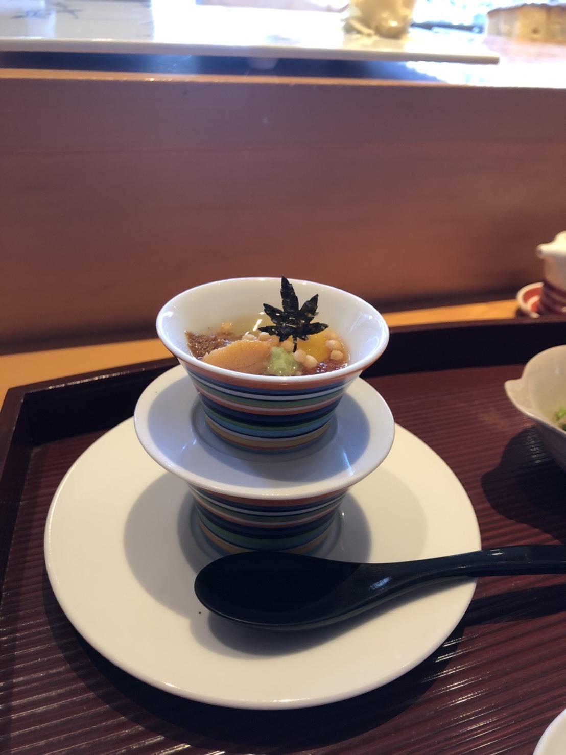 博多で白子の握りを堪能する♪_b0060363_10170987.jpg