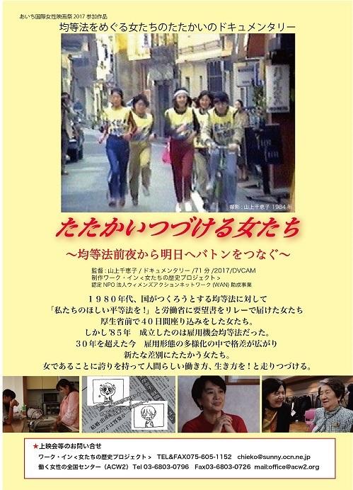 「たたかいつづける女たち」国際女性映画祭で3月上映_c0166264_18250563.jpg